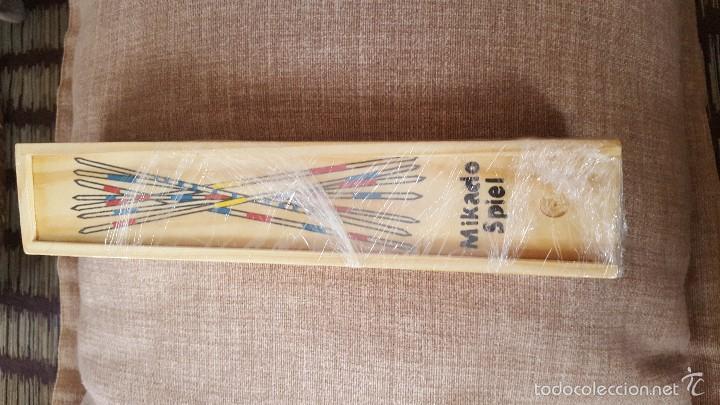 Juegos de mesa: Juego Mikado Spiel en caja de madera - Foto 3 - 56497240