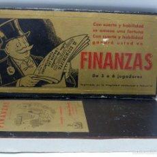 Juegos de mesa: FINANZAS JUEGO ESTRATÉGICO MESA CRONE FRANCISCO ROSELLÓ AÑOS 50. Lote 56503213
