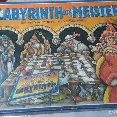 Juegos de mesa: LABERINTO RAVENSBURGER. DAS LABYRINTH DER MEISTER. VERSIÓN ALEMÁN. JUEGO DE MESA. Lote 56701632