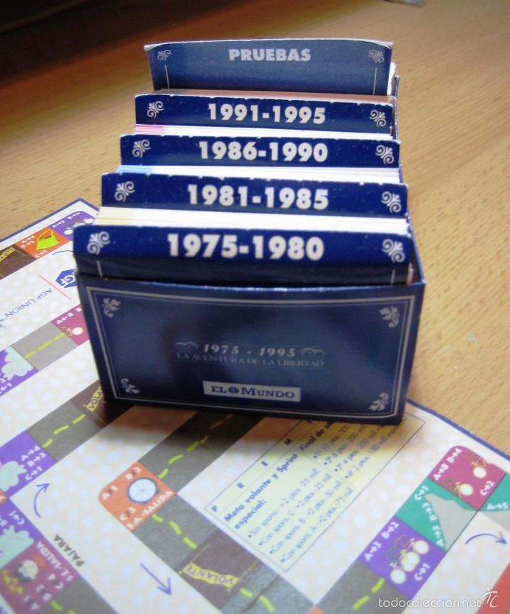 Juegos de mesa: EL JUEGO DE LA VUELTA-- Edic. El Mundo- - Foto 2 - 56845465