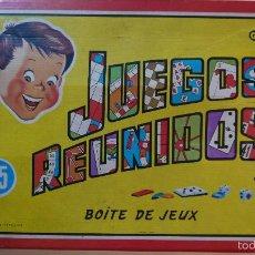 Juegos de mesa: JUEGOS REUNIDOS 25 - GEYPER. Lote 56860688