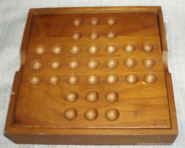 Juego De Madera Con Bolas Antiguo Comprar Juegos De Mesa Antiguos