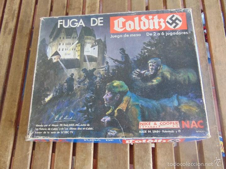 Juego De Mesa La Fuga De Colditz De Nac Comprar Juegos De Mesa