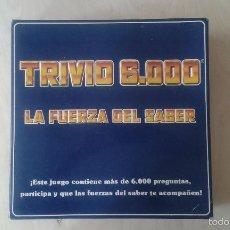 Juegos de mesa: TRIVIO 6000 -- LA FUERZA DEL SABER -- DE FALOMIR JUEGOS -- BUEN ESTADO, PARA JUGAR --. Lote 57118577