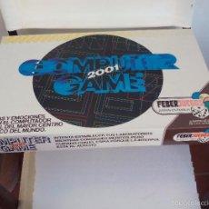 Juegos de mesa: COMPUTER 2001 GAME DE FEBERJUEGOS REF 870 COMPLETO. EN MUY BUEN ESTADO, JUEGO DE MESA AÑOS 80. FEBER. Lote 57142786