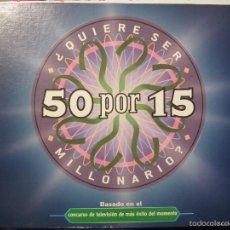Juegos de mesa: JUEGO DE MESA 50 X 15. Lote 57201353