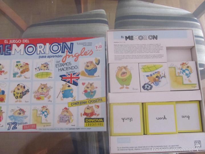 M69 Juego Del Memorion Verbos En Ingles Dinova Comprar Juegos De