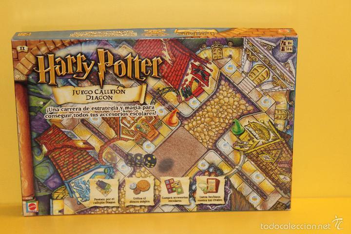 Juego De Mesa Harry Potter Juego Callejon D Comprar Juegos De