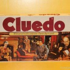 Juegos de mesa: JUEGO DE MESA CLUEDO - REF:7500 MADE IN SPAIN - BORRAS - COMPLETO. Lote 57299663