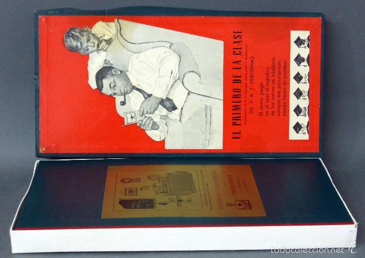Juegos de mesa: El primero de la clase Juego mesa Crone Francisco Rosselló años 50 - Foto 2 - 57301273