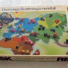 Juegos de mesa: RISK GRAN JUEGO DE ESTRATEGIA BORRAS. Lote 57330819