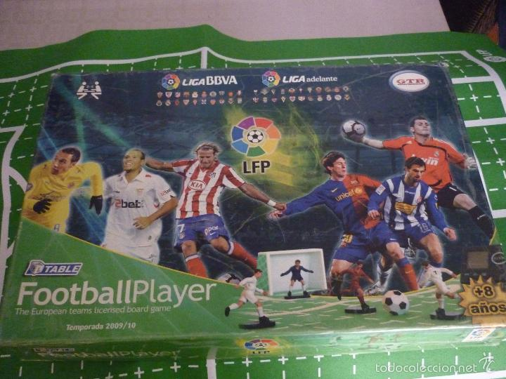 DIFÍCIL DE ENCONTRAR JUEGO FOOTBALL PLAYER. TABLE. TEMPORADA 2009/10 PRODUCTO BAJO LIC FÚTBOL PROF (Juguetes - Juegos - Juegos de Mesa)