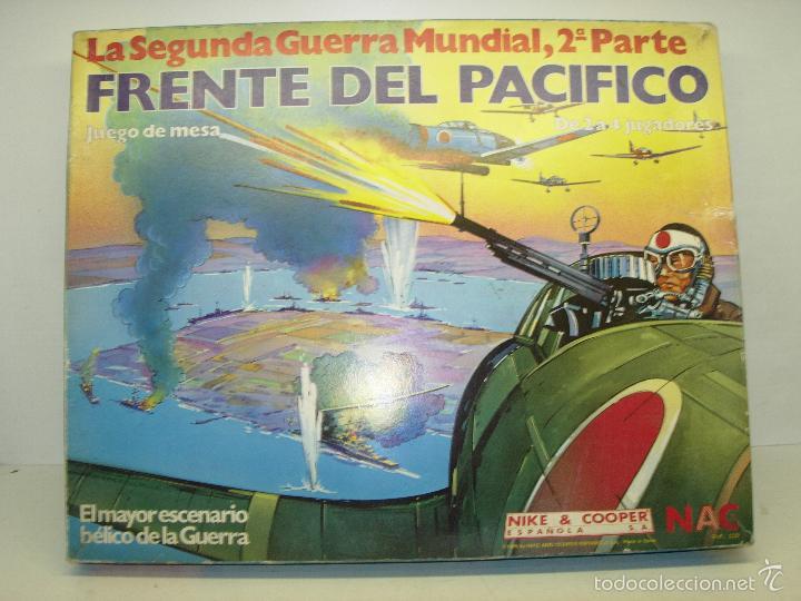 Juego De Mesa Frente Del Pacifico La Segunda Gu Comprar Juegos De