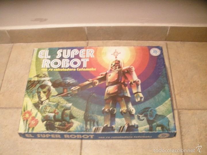 EL SUPER ROBOT DE CEFA. ANTIGUO JUEGO DE PREGUNTAS Y RESPUESTAS DE LOS AÑOS 70. (Juguetes - Juegos - Juegos de Mesa)