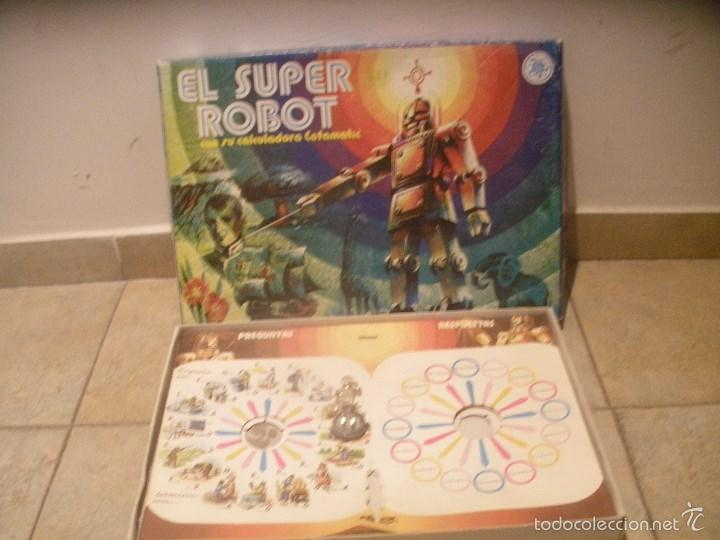 Juegos de mesa: El Super Robot de CEFA. Antiguo juego de preguntas y respuestas de los años 70. - Foto 2 - 57552030