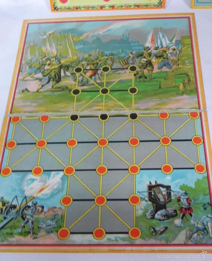 Juegos de mesa: 4 JUEGOS DE MESA, ASALTO, VIAJE EN ZEPEELIN, ETC... TAL Y COMO SE VE EN LAS FOTOGRAFIAS PUESTAS. - Foto 3 - 57587195