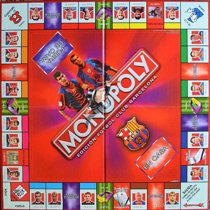 9dddf593de21 Juegos de mesa  MONOPOLY - EDICION FUTBOL CLUB BARCELONA - PARKER -  COMPLETO - BUEN