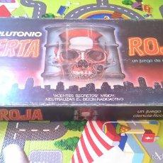 Juegos de mesa: JUEGO DE ALERTA ROJA DE CEFA AÑOS 80. Lote 57649051