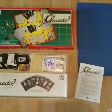 Juegos de mesa: JUEGO CLUEDO ANTIGUO DE BORRÁS COMPLETO . Lote 57678875