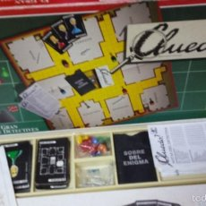 Juegos de mesa: ANTIGUO CLUEDO CAJA LARGA BORRAS. Lote 57684309
