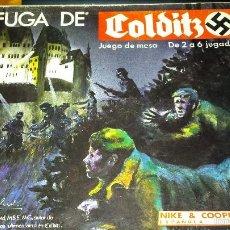 Juegos de mesa: JUEGO DE MESA LA FUGA DE GOLDITZ DE NAC COMPLETO. Lote 57684729