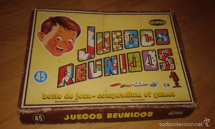 JUEGOS REUNIDO GEYPER 45 (Juguetes - Juegos - Juegos de Mesa)