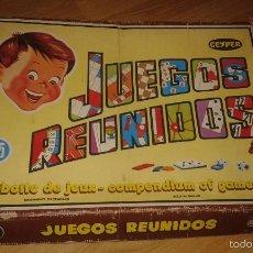 Juegos de mesa: JUEGOS REUNIDO GEYPER 45. Lote 57736544
