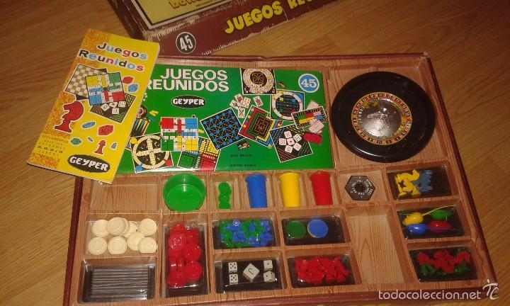 Juegos de mesa: JUEGOS REUNIDO GEYPER 45 - Foto 2 - 57736544