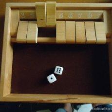 Juegos de mesa: JUEGO MADERA 2 DA 2 . JUEGO DE DADOS CAYRO JUEGOS . Lote 57779795