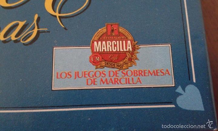 Juegos de mesa: Poker de letras de Educa. Los juegos de sobremesa de Cafés Marcilla. Completo y sin usar. - Foto 3 - 57975841
