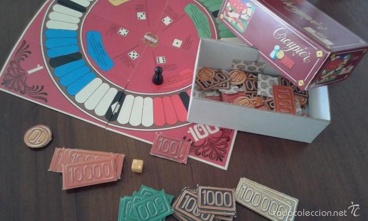 Juegos de mesa: Croupier de Educa. Los juegos de sobremesa de Cafés Marcilla. Completo y sin usar. - Foto 2 - 57975898