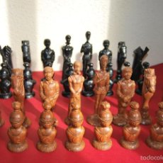 Juegos de mesa: AJEDREZ DE DON QUIJOTE - GRAN TAMAÑO - 15 CM. Lote 57987286