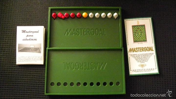 FUTBOLIN DE BOLSILLO MASTERGOAL (Juguetes - Juegos - Juegos de Mesa)