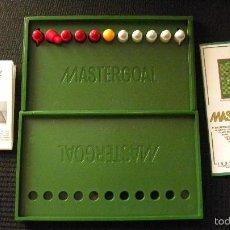 Juegos de mesa: FUTBOLIN DE BOLSILLO MASTERGOAL. Lote 58016438