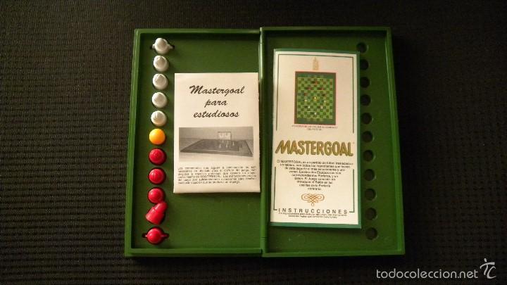 Juegos de mesa: Futbolin de bolsillo Mastergoal - Foto 2 - 58016438