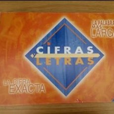 Juegos de mesa: JUEGO DE MESA CIFRAS Y LETRAS. Lote 58080986