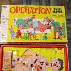 Juegos de mesa: M69 PRIMER JUEGO OPERACION DE MB EN ESPAÑA AÑO 1965 UNICO 50 AÑOS. Lote 58098888