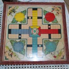 Juegos de mesa: ANTIGUO TABLERO DE PARCHÍS AÑOS 30. Lote 58143407