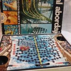 Juegos de mesa: JUEGO DE MESA AL ABORDAJE DE JUEGOS EDUCA - AÑOS 70 . Lote 58188858