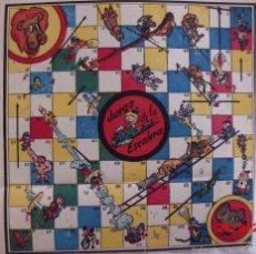 Juegos de mesa: JUEGO DE LA ESCALERA ANTIGUO. Lote 58189445