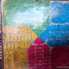 Juegos de mesa: PARCHIS DE EXTRAÑO DISEÑO DE CARTON AÑOS 80 - EN MAL ESTADO -REF-M2ARR. Lote 58249004