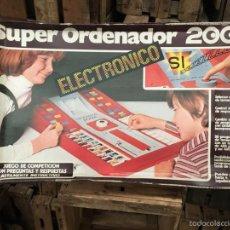 Juegos de mesa: JUEGO DE MESA SUPER ORDENADOR 2002. Lote 58304225