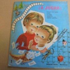 Juegos de mesa: A JUGAR Nº 1 - EDIT ROMA - COMPLETO Y POR ESTRENAR - 1971 - CASES - STOCK DE LIBRERIA SIN USAR. Lote 58341649