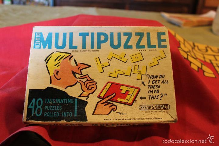 Multipuzzle Juego De Mesa Ingles Comprar Juegos De Mesa Antiguos