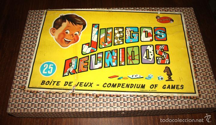 Antiguos Juegos Reunidos Geyper 25 Anos 60 Comprar Juegos De