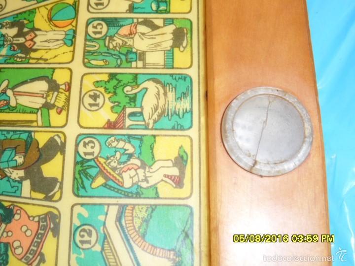 Juegos de mesa: MUY ANTIGUO JUEGO DE PARCHIS Y DE LA OCA DE MADERA TREN AVION BARCO AUTOBUS - Foto 4 - 58435897