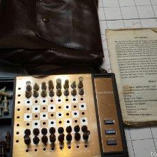 Juegos de mesa: ANTIGUO AJEDREZ DE VIAJE ELECTRÓNICO AÑOS 80. Lote 58497955