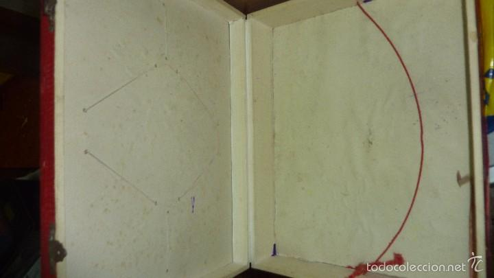 Juegos de mesa: antigua caja de madera magia borras nº 2 bonita litografia sabates 40 / 31 / 9 cm - solo caja - - Foto 2 - 58542216
