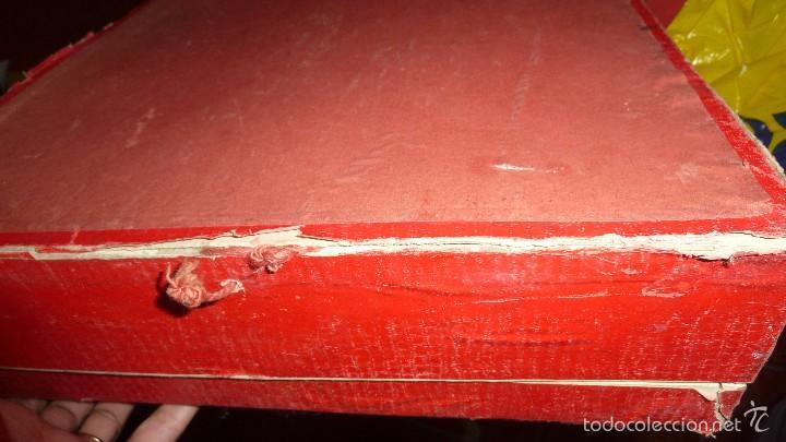 Juegos de mesa: antigua caja de madera magia borras nº 2 bonita litografia sabates 40 / 31 / 9 cm - solo caja - - Foto 4 - 58542216
