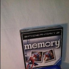 Juegos de mesa: JUEGO MESA SPIDERMAN MEMORY. Lote 58583156